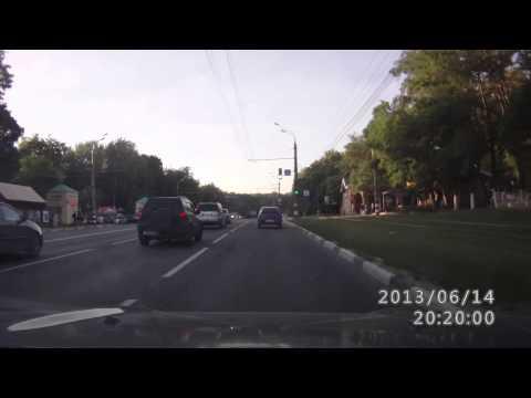 ДТП на пр. Гагарина, Н. Новгород 14.06.2013 Ford Focus, Honda Accord
