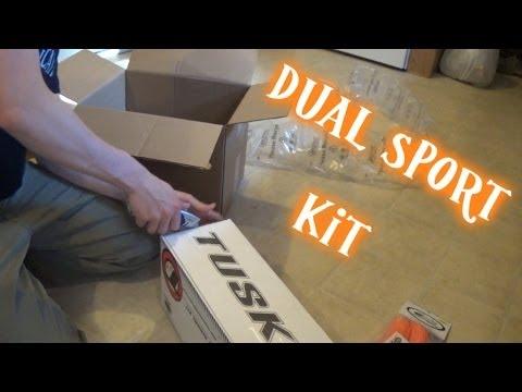 Unboxing my KTM 300XC-W's Tusk dual sport kit