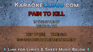 Watch Terri Clark Pain To Kill video