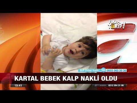 Kartal bebek kalp nakli oldu - 20 Kasım 2017