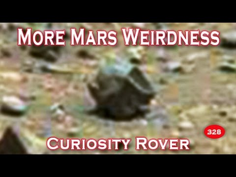 More Mars Weirdness Imaged By NASA's Curiosity Rover SOL 983