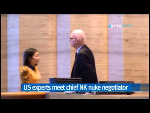 US nuke experts meet N.Korea's chief nuke envoy in Singapore / YTN