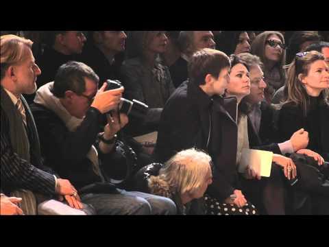 Paris Fashion Week - 2011 Fall Lanvin Show