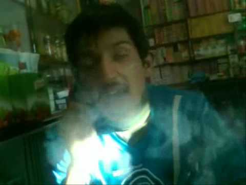 dard jab had se guzarta hai HASEEB SMOKER ON SHANI STORE.wmv