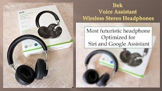 Itek Voice Assistant Wireless Stereo Headphones