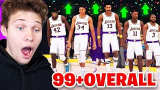 THE BEST NBA 2K19 TEAM POSSIBLE! ALL GALAXY OPAL
