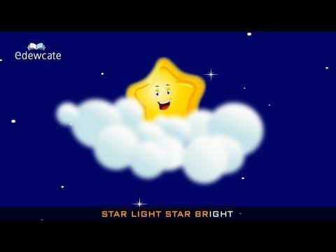 star light star bright – Christmas songs for kids
