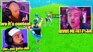 OLD NINJA *SLIPS* FULL TOXIC RAGE at NICKMERCS & TIMTHETATMAN! DRDISRESPECT *DELETES* FORTNITE!