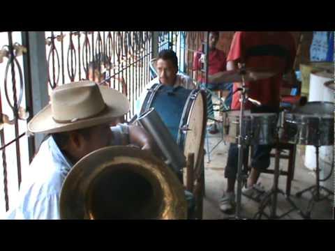 La Banda de viento de El terrero Guerrero