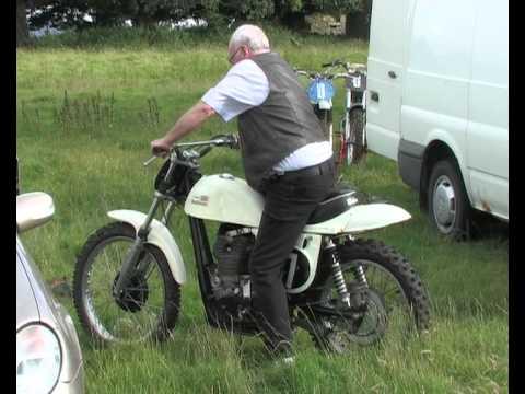 Vintage Dirt Bikes Scottish Classic Scramble Club Kirkness 2012.