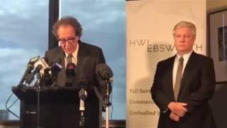 Geoffrey Rush Press Conference: Actor Sues Australia