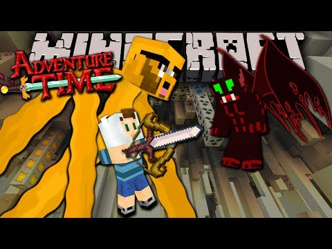 Minecraft: Adventure Time - Demon's Blood Hollow - Trapped In Twilight Forest! - Episode 3 video