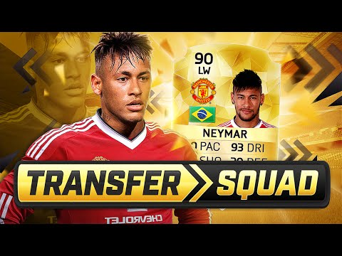 NEYMAR TO MANCHESTER UNITED TRANSFER SQUAD BUILDER!