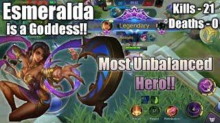 Become a Goddess with ESMERALDA -Tips and Tricks | Mobile Legends Bang Bang
