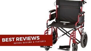 NOVA Medical Products Heavy Duty Transport Wheelchair Features Reviews