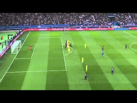 PSG Vs Barcelona Offside