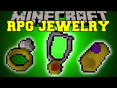 Minecraft: RPG JEWELRY (AMULETS, RINGS, DUAL WIELDING, BRACELETS, & MORE!) Mod Showcase