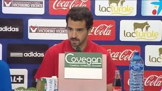Rueda de prensa de Miguel De las Cuevas