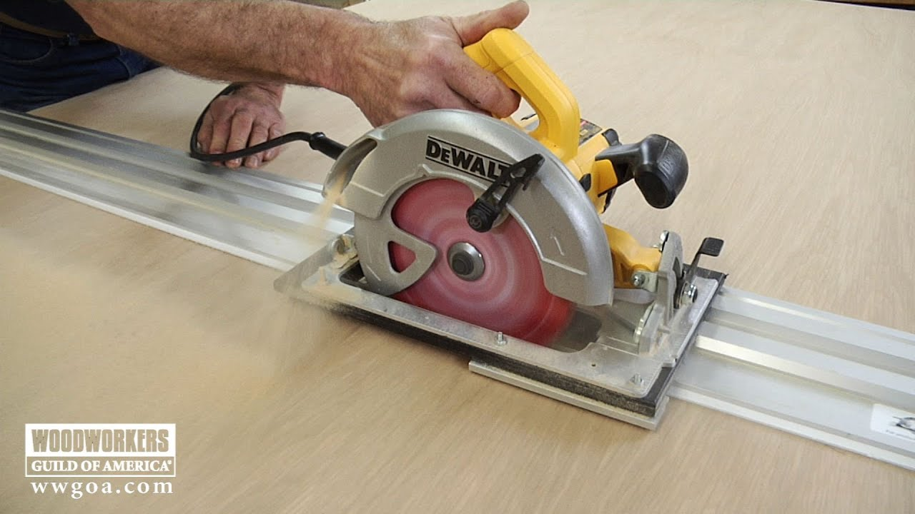 Benefits of a Track Saw Woodworkers Guild of America