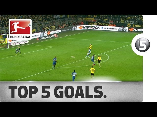 Top 5 Goals from Matchday 16 - Vote for your Goal of the Week