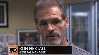 GM Ron Hextall talks about Ivan Provorov and Travis Konecny making the team