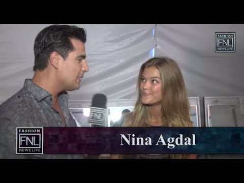 NY Fashion Week Day 3 - Nina Agdal interview #NYFW #MBFW