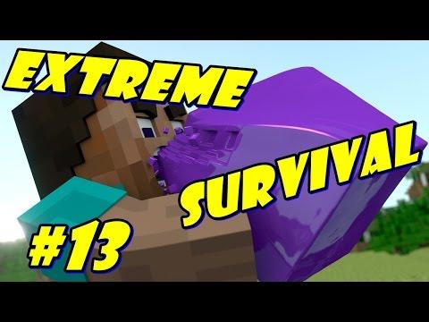Minecraft PE - EXTREME SURVIVAL - EP.13 [ Пак животинските премеждия 😮]
