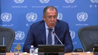 Russia rejects criticism of air strikes in Syria