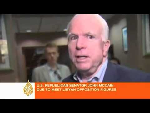 John McCain in Benghazi 2011: Rebels are