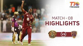 Match 8, T10 League Season 2, Punjabi Legends vs Northern Warriors