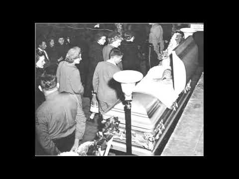 Hanks Williams Funeral Service January 4th 1953 Youtube