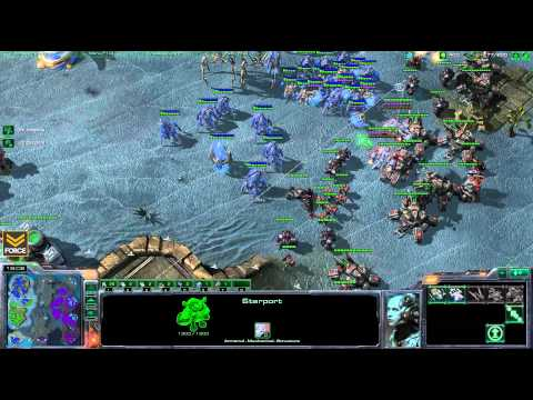 StarCraft 2 - LIVE 2v2 Force [T] Tempest [P] vs chuckg [P] wPsCatalyst [Z] - Commentary