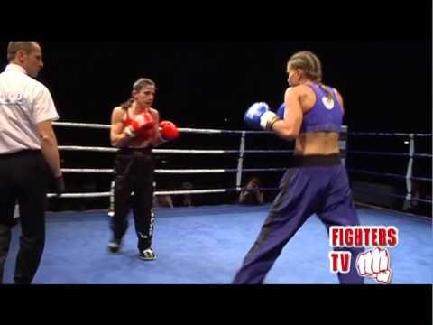 FEDERICA BOZZURRA vs TONJE SORLIE- 1 p FightersTv #RING – sport da combattimento -