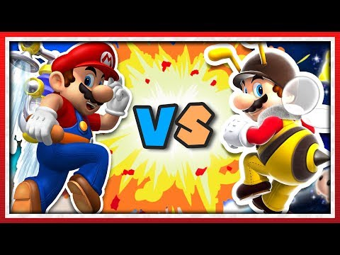 SUPER MARIO SUNSHINE vs. SUPER MARIO GALAXY