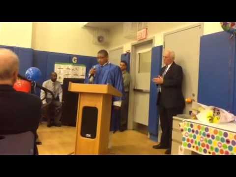 Jasir graduation speech- Reece School Graduation 2014 - 06/25/2014