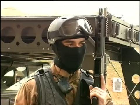 Un entrenamiento del GEO, el grupo de élite de la Policía Nacional