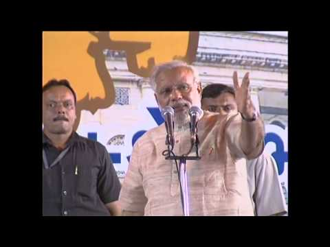 Shri Narendra Modi speech in Ahmedabad, Gujarat  after historical victory in Lok Sabha Election 2014