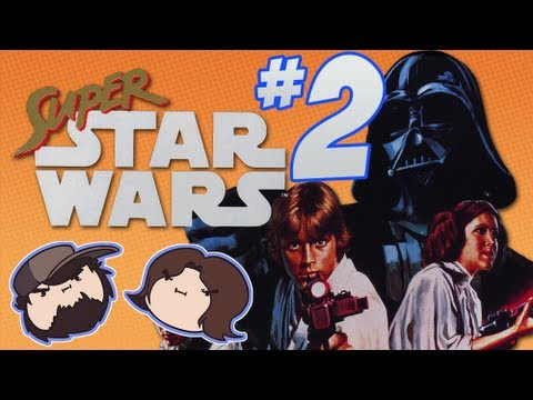Super Star Wars: The Sith Strikes Hope - PART 2 - Game Grumps