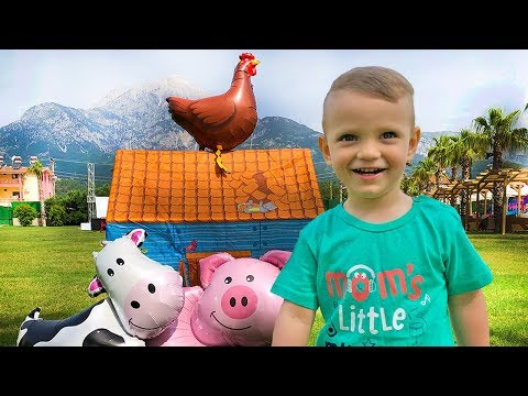 Old MacDonald had a Farm - Nursery Rhymes Song for Children by Funny Dani