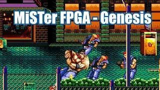 MiSTer FPGA  - Genesis/Megadrive Gameplay