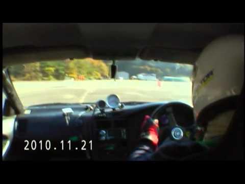 姫路セントラルパークジムカーナマーシャル走行車載2010112221490900