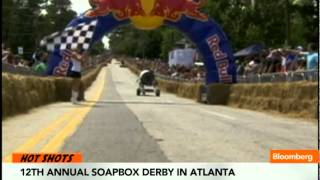 Spanish Miners Protest, Soap Box Derby