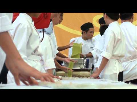 Republic Polytechnic School of Hospitality Longest Flavoured Pasta Record for WRA