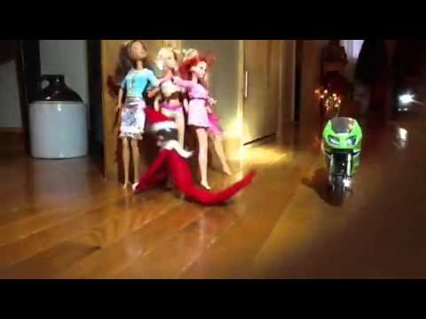 Elf On The Shelf Motorcycle Youtube