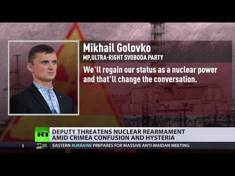 Ukraine to go nuclear? New govt rep threatens rearmament, US silent