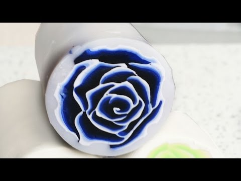 ROOS CANE TUTORIAL | POLYMER CLAY Millefiori  | Sculpey Review