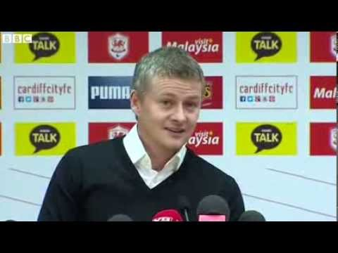 Ole Gunnar Solskjaer taking over at Cardiff City