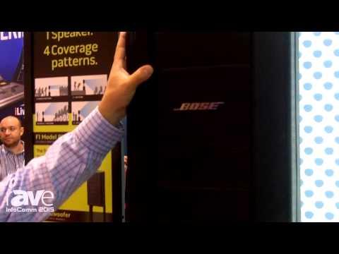 InfoComm 2015: Bose Features F1 Series Flexible Array Loudspeaker