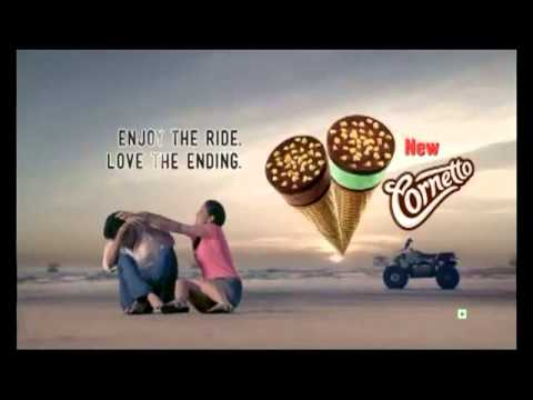 New Cornetto TVC with Sidharth and Yaami Gautam