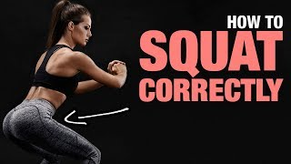 How To Squat Correctly (PROPER SQUATS FORM)